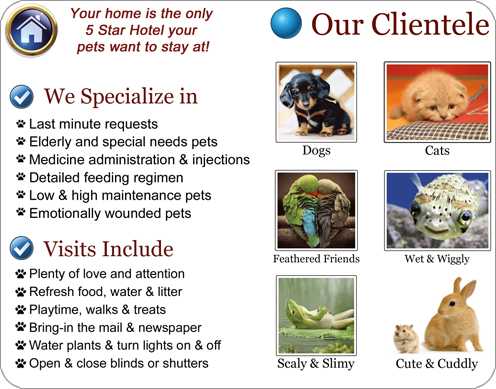 Pet Sitting Specialist